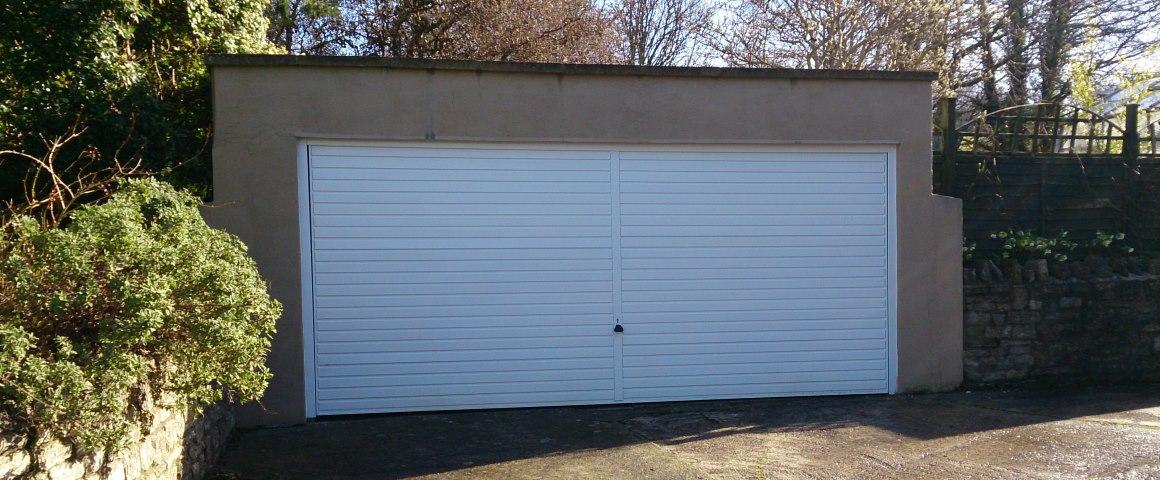 Bristol garage door by Acredale