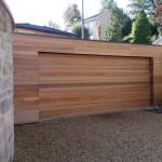 wood effect garage Bath