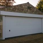 After - large Acredale garage door in Bath