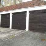 Before - Garage doors